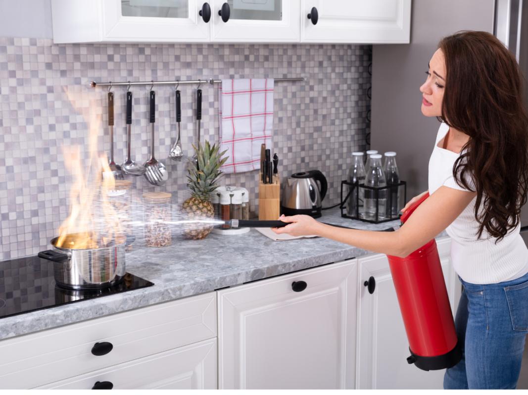 cuidados en el hogar para prevenir incendios
